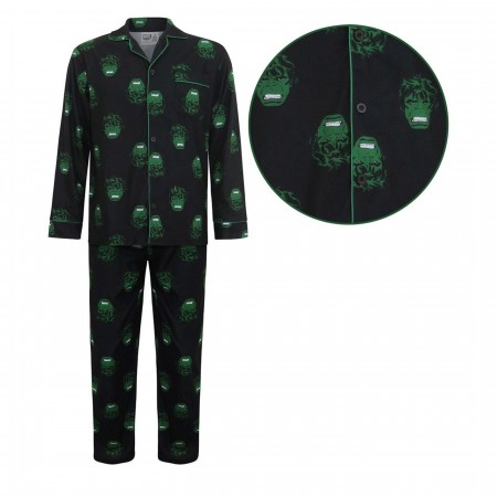 Hulk All-Over Print Pajama Set