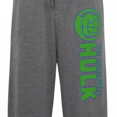 Incredible Hulk Fist Men's Pajama Pants