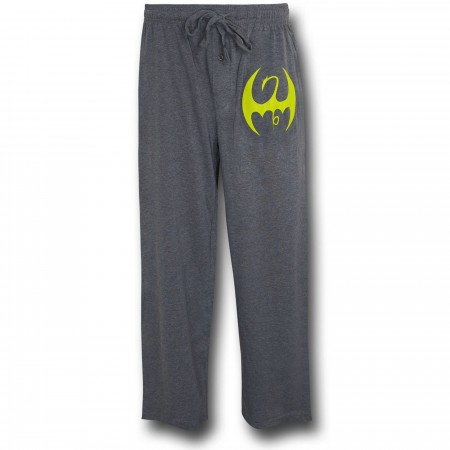 Iron Fist Symbol Grey Sleep Pants