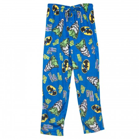 Joker HaHa Men's Fleece Pajama Pants