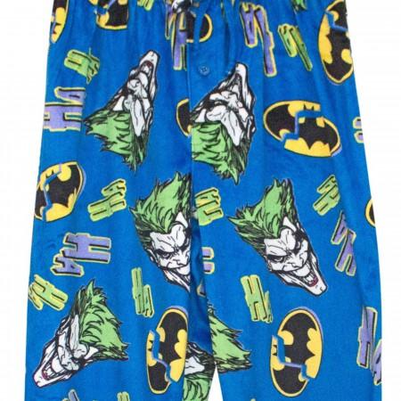Joker HaHa Men's Fleece Pajama Pants