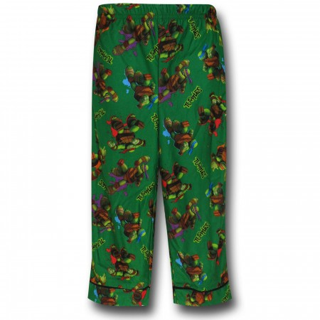 TMNT Jersey Coat Green Kids Pajama Set