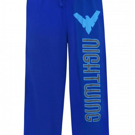 Nightwing Foil Logo Unisex Pajama Pants