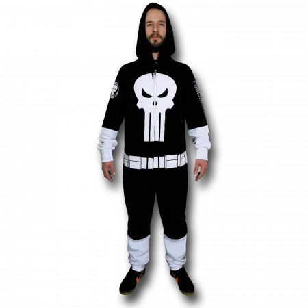 Punisher Costume Union Suit