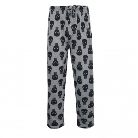 Punisher Skulls All-Over Print Men's Pajama Pants