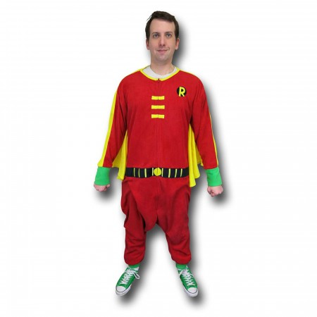 Robin Kigurumi Caped Union Suit