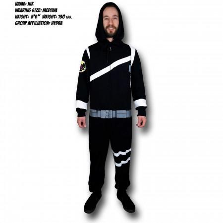 SHIELD Agent Costume Union Suit
