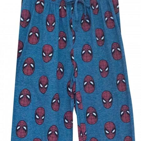 Spider-Man Spidey Heads Pajama Pants