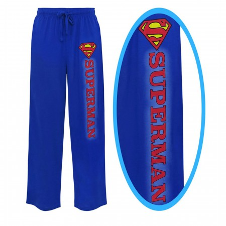 Superman Classic Symbol Unisex Pajama Pants