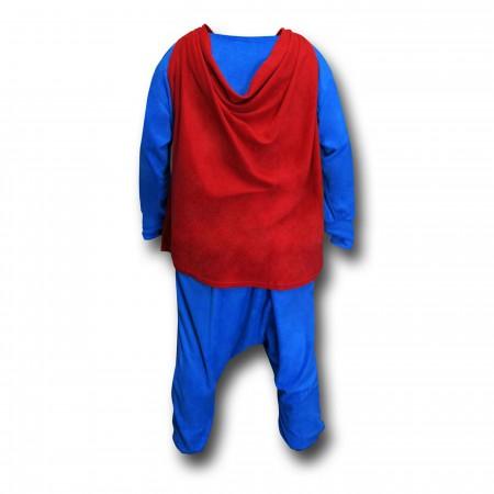 Superman Caped Union Suit