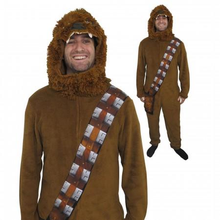 Star Wars Chewbacca Costume Fleece Union Suit