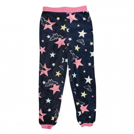 Wonder Woman Stars & Foil Girls Jogger Sleep Set