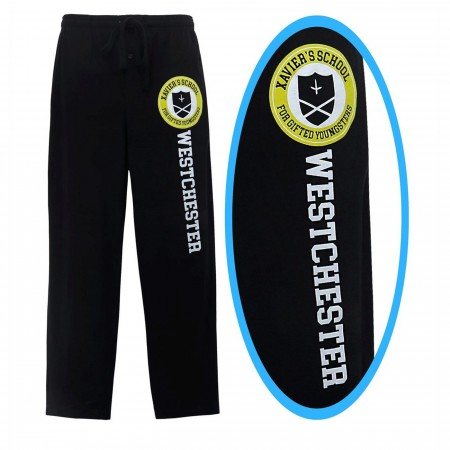 X-Men Xavier School Logo Men's Pajama Pants