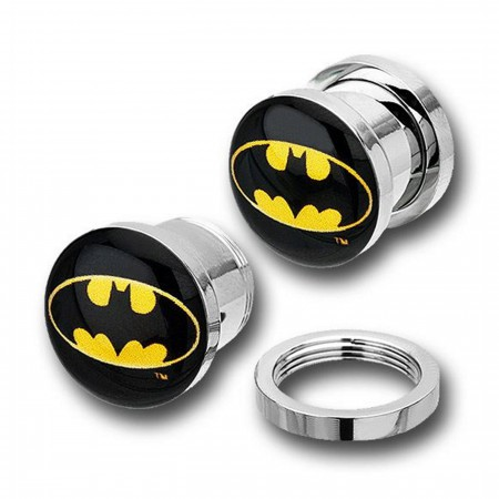 Batman 316L Surgical Steel Plugs