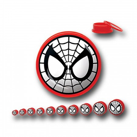 Spider-Man Acrylic Screw Fit Plugs