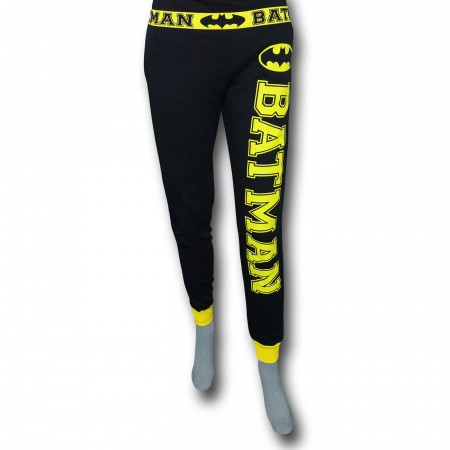 Batman Women's French Terry Pajama Pants