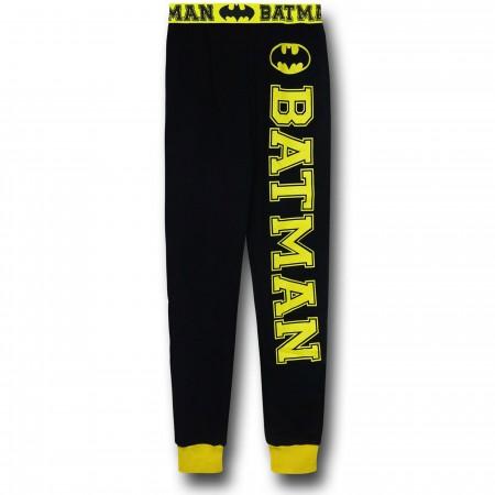 Batman Women's French Terry Pajama Pants