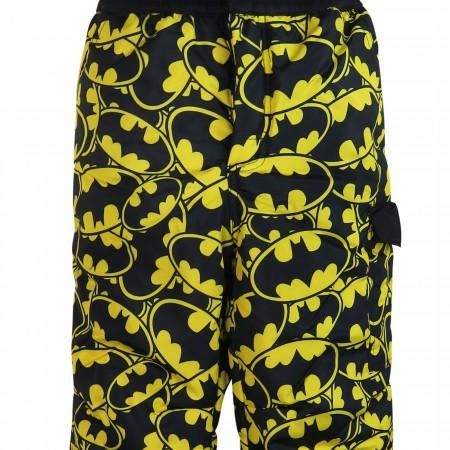Batman All-Over Symbols Kids Snow Pants