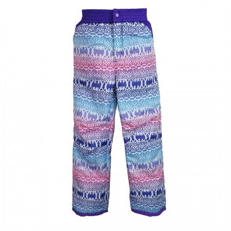 Batgirl Symbols Kids Snow Pants