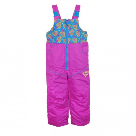 Supergirl Symbols Kids Snow Pants