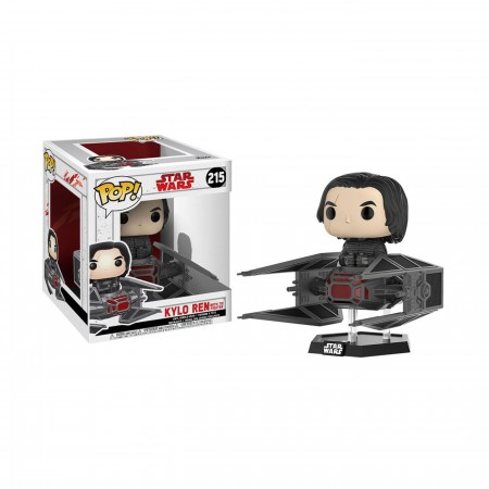 Star Wars Last Jedi Kylo Ren in TIE Fighter Funko Pop