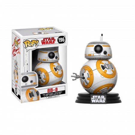 Star Wars The Last Jedi BB-8 Funko Pop Bobble Head