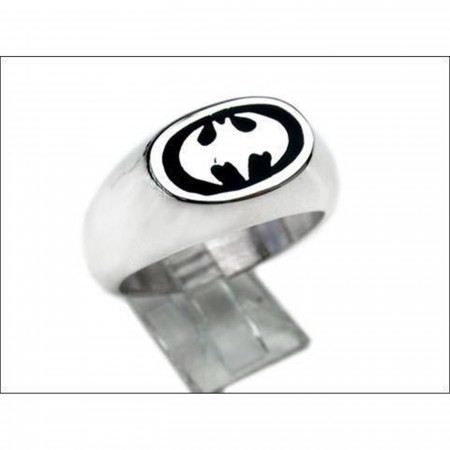 Batman Sterling Silver Ring