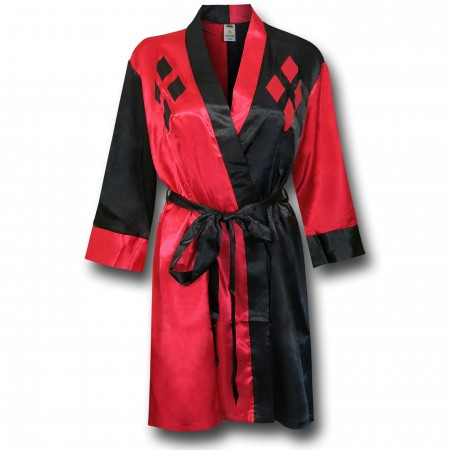 Harley Quinn Women's Satin Robe