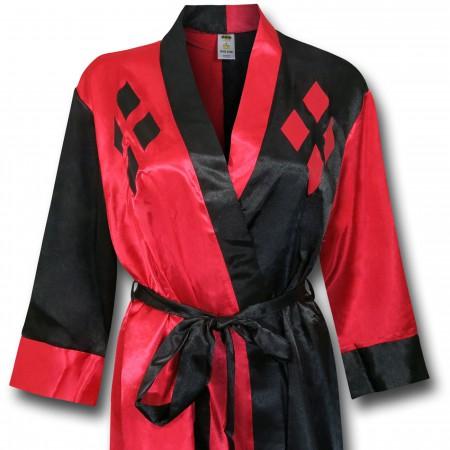 Harley Quinn Women's Satin Robe