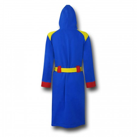 Superman Hooded Robe with Belt