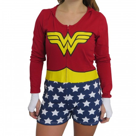 Wonder Woman Cosplay Women's Romper