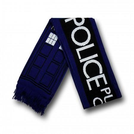 Doctor Who Tardis Scarf