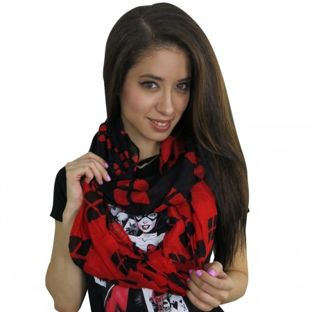 Harley Quinn Women's Infinity Scarf