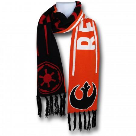 Star Wars Rebel/Empire Reversible Scarf