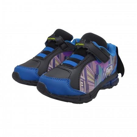 Batman Cityscape Kids Caped Sneakers
