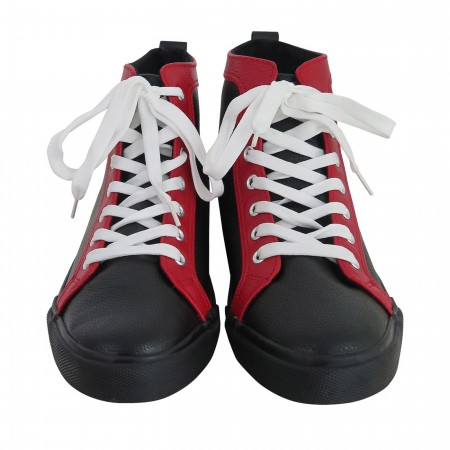 Deadpool Logo Men's High Top Sneakers