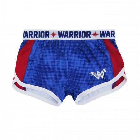 Wonder Woman Warrior Women's Track Shorts