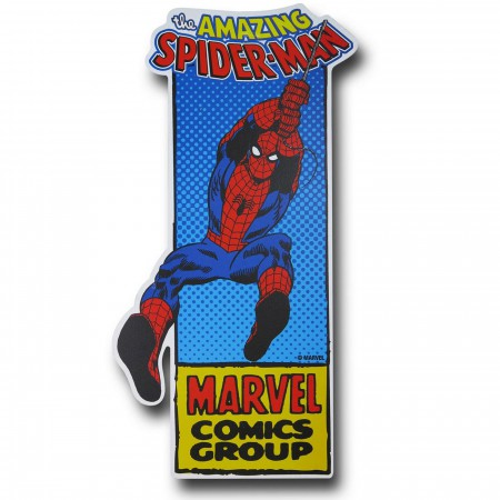 Spiderman Die Cut Sign
