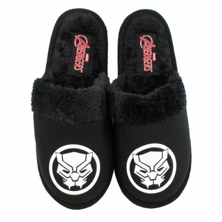 Black Panther Character Men's Slippers