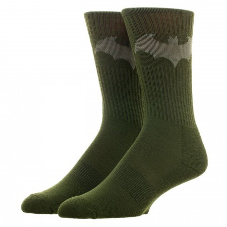 Batman Hush Salute To Service Athletic Crew Socks