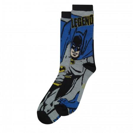 Batman Legend Crew Socks 2-Pack