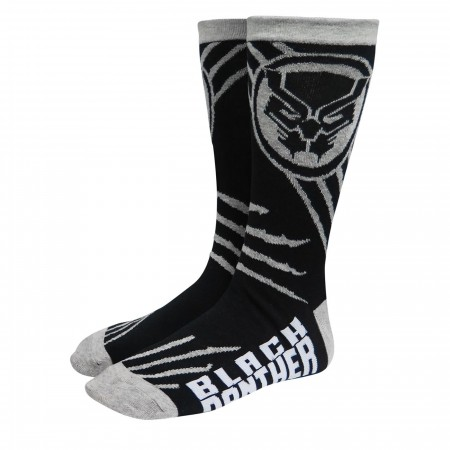 Black Panther Icon & Claws Crew Socks
