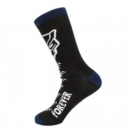 Black Panther Wakanda Crew Socks