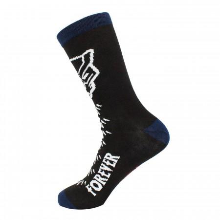 Black Panther Wakanda Crew Socks