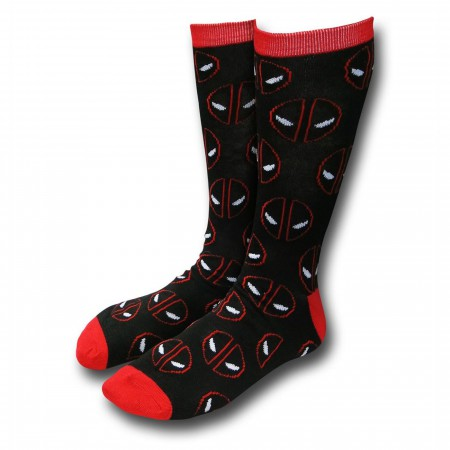 Deadpool Crew Sock 2-Pair Pack