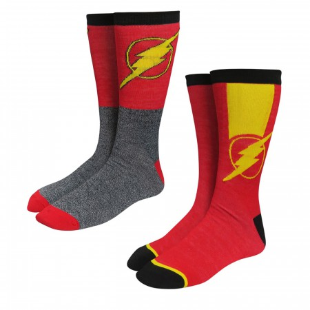 Flash Logo Speedsters Socks 2-Pack