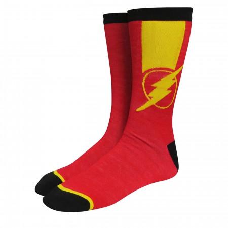 Flash Logo Speedsters Socks 2-Pack