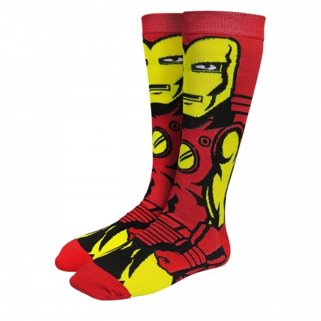 Iron Man Classic Armor Crew Socks