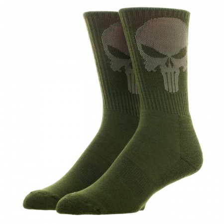 Punisher Salute To Service Athletic Crew Socks