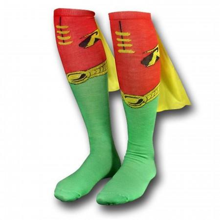Robin Socks w/Capes Women's Knee-Highs